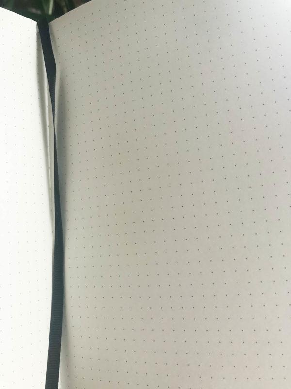 Prickat mönster som gör det lätt att göra raka linjer